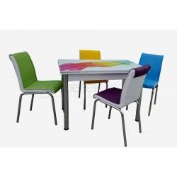 тр маса ZARA + 4 стола